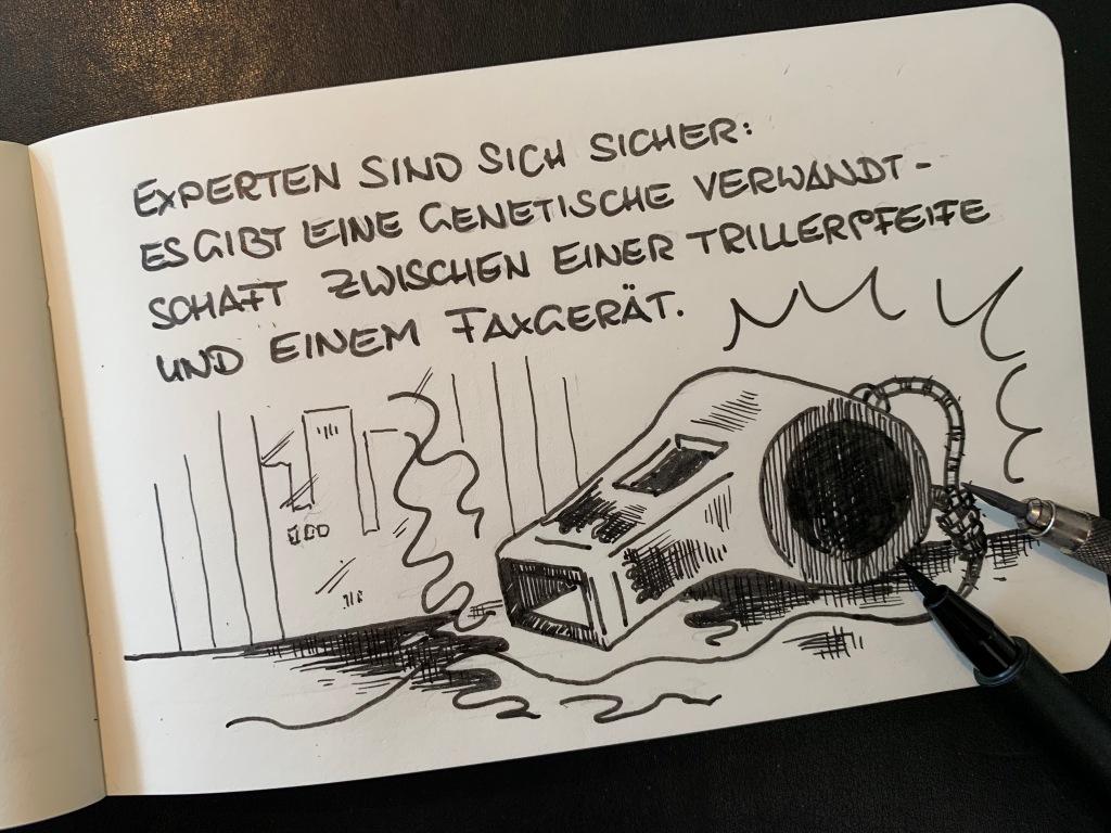 Für Buddy Müllers aktuellstes Projekt wird ein Faxgerät zur rettenden Technologie.